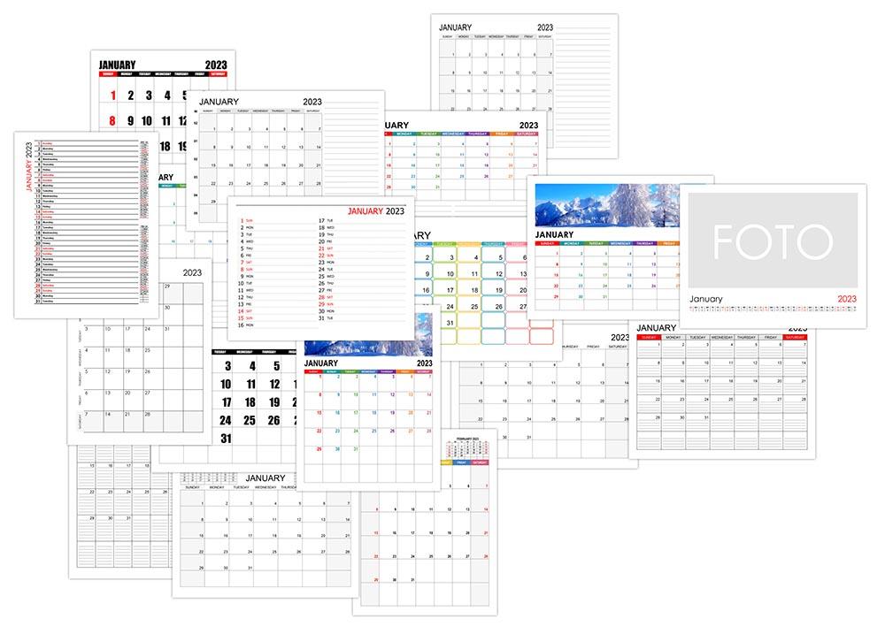 Calendar for January 2023
